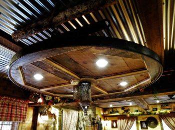 west rustic lamp